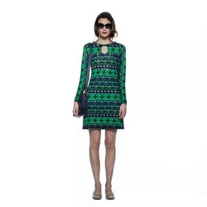 Banana Republic x Mad Men Peggy Print Dress